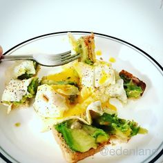 My @dr_oz #28dayshrink breakfast got spiced up this morning - a teaspoon of green chili - so indulgent #ELMAGT