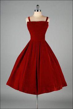 c4acb0e3cc5 77 Best red velvet dress images