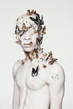 Justin Dingwall's Portfolio - Albus This is really cool too...I just don't like the idea of photoshopping a lot of butterflies..-Irvin (Cool Photography Of People)