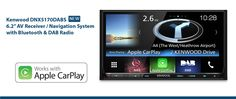 "#NEW #Kenwood #DNX5170DABS 6.2"" #AV #Receiver / #Navigation #System #Bluetooth & #DAB #Radio !!"