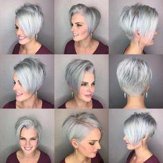 Short Hairstyle Grey 2017 - 1