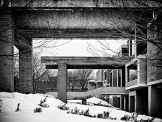 The Orange County Government Center, by Paul Rudolph.