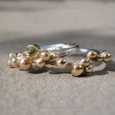Sea Glass Jewelry, Jewelry Box, Jewelery, Jewellery Designs, Ring Necklace, Metal Art, Bling Bling, Handmade Jewelry, Silver Rings