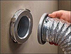 MagVent Dryer Vent Connectors - Lee Valley Tools