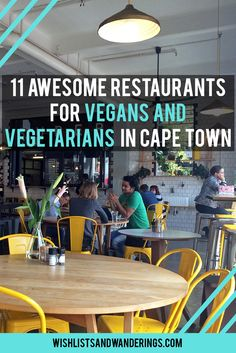 Can you happily spend hours in a comfy booth, enjoying some plant-based goodness while people-watching through a nearby window? Cape Town, with its urban haunts and health-food spots, offers so many spaces where you can do just that. From burgers to deluxe brunches, dairy-free coffee to raw food, here are some great restaurants and cafés that offer vegan and vegetarian food in Cape Town, South Africa.