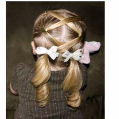little girls hair kleine Mädchen Haare Little Girl Hairstyles, Pretty Hairstyles, Easy Hairstyles, Toddler Hairstyles, Girls Hairdos, Natural Hairstyles, Beautiful Haircuts, Wedding Hairstyles, Girl Haircuts