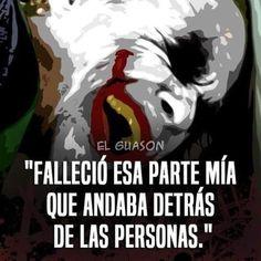 Joker Frases, Joker Quotes, Harley Quin, Clint Eastwood, Spanish Quotes, Fangirl, Sad, Humor, Feelings