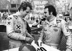Niki Lauda and Clay Regazzoni