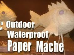 New craft paper projects papier mache Ideas Paper Mache Projects, Paper Mache Clay, Paper Mache Sculpture, Paper Mache Crafts, Paper Sculptures, Sculpture Projects, Book Sculpture, Art Projects, Diy Paper