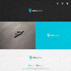 SLINC VOICE needs a clean, modern, beautiful logo! by artistim