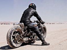 Shinya Kimura's 2007 Spike, based on the 1946 Harley-Davidson Knucklehead