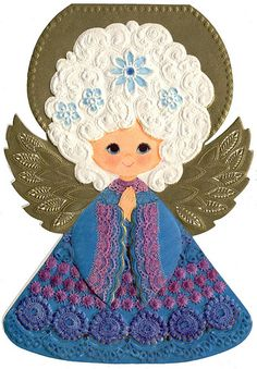 Vintage Angel Card