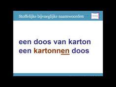 De rode fiets; voor het leren van bijvoeglijke naamwoorden - YouTube