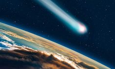 On Thursday evening, a huge comet called is set to glow its brightest and will be visible to the naked eye. Astronomical Events, Going Fishing, Interstellar, Bright Stars, Rest Of The World, Stargazing, Solar System, Night Skies, Constellations
