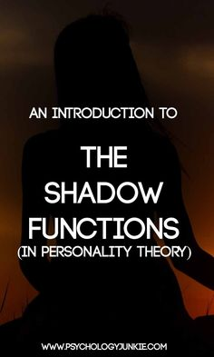 An Introduction to the Shadow Functions - Psychology Junkie