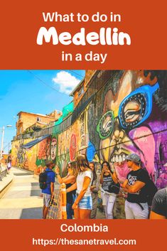 What to do in Medellin in a day Backpacking South America, South America Travel, South America Destinations, Travel Destinations, Travel Couple, Family Travel, Travel Guides, Travel Tips, Travel Hacks