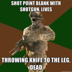 Call of duty logic