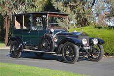 A 1914 Rolls-Royce Silver Ghost with original Barker body
