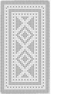 Crochet Patterns Filet, Crochet Doily Rug, Crochet Stitches Chart, Crochet Table Runner Pattern, Crochet Towel, Crochet Dollies, Crochet Leaves, Crochet Diagram, Doily Patterns