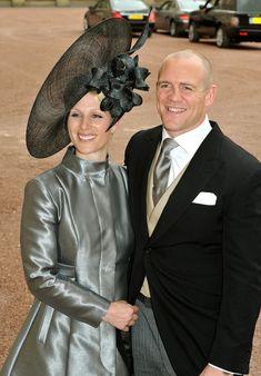 Zara Phillips - Royal Wedding - Evening Celebrations At Buckingham Palace