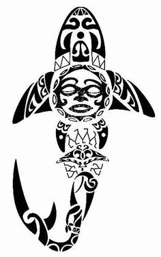 polynesian tribal octopus art - Google Search