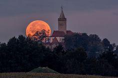 danielbaak: Blutmond hinter der Leuchtenburg, Thüringen