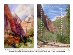 Watercolor painting tips by Roland Lee