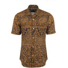 e9557c4cc8b0f2 Vivienne Westwood Man Printed Mussola Rattle Short Sleeve Shirt (1920 MAD)  ❤ liked on