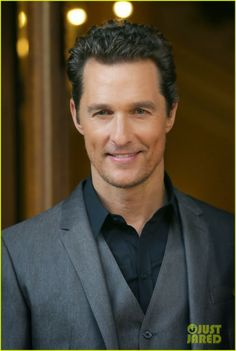 Celeb Diary: Matthew McConaughey with a smile for the Dallas Buyers Club photo call in Rome, Italy