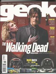 Geek magazine with The Walking Dead
