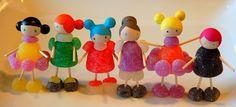Restless Risa gumdrop dolls candy craft