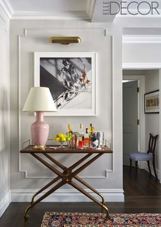 Shameless star Emmy Rossum asked Elle Decor and designer Antonino Buzzetta to help give her new Manhattan home a makeover Elle Decor, Interior Paint Colors, Interior Design, Interior Painting, Gray Interior, Bathroom Interior, Interior Ideas, Bathroom Ideas, Diy Home Decor