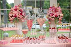 Baby Naming Party_Kathy G and Co_Strawberry Mousse and Cake Pops Chocolates, Pink Sweets, Strawberry Mousse, Party Desserts, Dessert Bars, Pastel Pink, Happy Valentines Day, Baby Names, Cake Pops