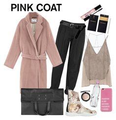 """pink 🐩"" by alina-rafikova ❤ liked on Polyvore featuring Alexander Wang, Acne Studios, Maison Margiela, ASOS, Zara, Yves Saint Laurent, MAC Cosmetics and Too Faced Cosmetics"