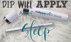 Four steps to the best lashes of your life, no need for mascara. Simply DIP, WIPE and APPLY and SLEEP! Rodan + Fields Lash Boost #bestlashes #lashesboost #applyinglashes