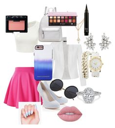"""""""And after all this time"""" by ihascupquake270 on Polyvore featuring Ally Fashion, Lipsy, Rebecca Minkoff, Charlotte Russe, Lime Crime, NARS Cosmetics and Anastasia Beverly Hills"""