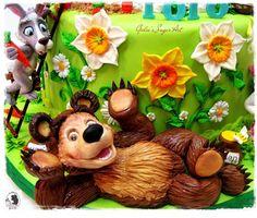 Bear - Cake by Galia Hristova – Art Studio