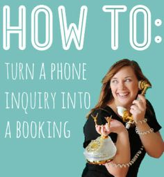 HOW TO: Turn a Phone Inquiry into a Booking | Boudie Shorts