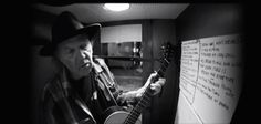 Neil Young - Needle of Death recorded in a 1940s Recording Booth