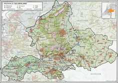 Gelderland - My family is traced back to Wageningen in the early Family Roots, Inspiration Wall, Holland, Vintage World Maps, Diagram, History, Country, Van, Places