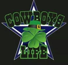 Happy St. Patrick's Day Cowboys Fam!