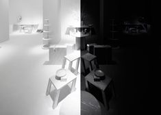 Nendo designs mirror-image exhibition for Marsotto Edizioni