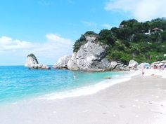PARGA beaches: Piso Krioneri September Holidays, Places In Greece, Greek Islands, Vacation Spots, Lifestyle Blog, Beaches, Beautiful Places, City, Water