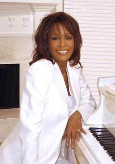 *Whitney Houston (August 9, 1963 - February 11, 2012) - Photo from a 20/20 Interview in 2002