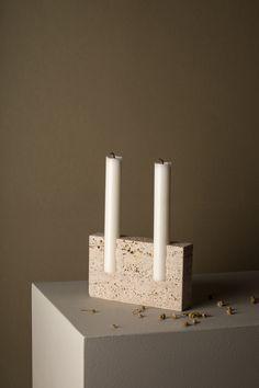 Swedish designer Sanna Völker and the Snug candle holder
