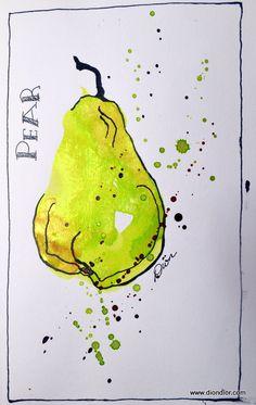 Twinkling Pear | Flickr - DionDior