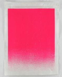 Rupprecht Geiger ohne Titel (Fahne) 1974