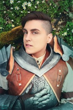 Amazing cosplay of Krem, from Dragon Age Inquisition!