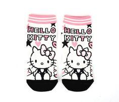 Hello Kitty Ankle Socks Adult: Pink Pop