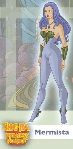 Princess of Power: Mermista by ~davidgozu on deviantART